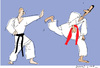 Cartoon: Karate (small) by gungor tagged syria