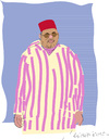 Cartoon: Roi du Maroc (small) by gungor tagged morocco