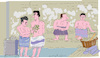 Cartoon: Sauna (small) by gungor tagged france