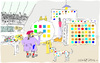 Cartoon: The Studio (small) by gungor tagged painter
