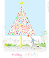 Cartoon: Tree (small) by gungor tagged christmas