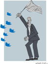 Cartoon: Twitter (small) by gungor tagged turkey