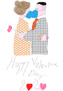Cartoon: Valentine Day 2020 (small) by gungor tagged valentine,day