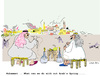 Cartoon: War and Peace (small) by gungor tagged middle,east