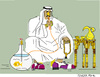 Cartoon: Wealthy not Happy (small) by gungor tagged uae