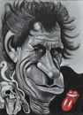Cartoon: Keith Richards (small) by Tomek tagged rolling,stones,keith,richards