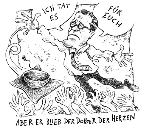 Cartoon: Doktor der Herzen (medium) by JP tagged guttenberg,doktor,doktortitel,plagiatsaffäre,plagiat