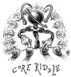 Cartoon: core riddle (small) by JP tagged fukushima,core,nuclear,power,plant,atomic