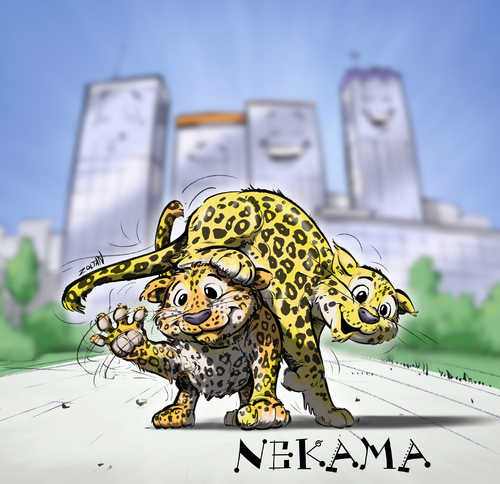 Cartoon: Nekama (medium) by Zoltan tagged nekama,tierpark,berlin,leopard,chinaleopard,raubkatze,zoltan,dovath,zoo,nachwuchs,tierbaby,nekama,tierpark,berlin,leopard,chinaleopard,raubkatze,zoltan,nachwuchs,dovath,zoo,tierbaby