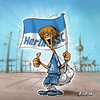 Cartoon: Ein Herthafrosch (small) by Zoltan tagged balljunge,fußball,hertha,bsc,olympiastadion,berlin