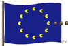 Cartoon: EU-Pacman (small) by pv64 tagged pv,eu,libia,war,germania,francia