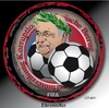 Cartoon: FIFA Ehrenteller (small) by ESchröder tagged sepp,blatter,fifa,korruption,wiederwahl,geldwäsche
