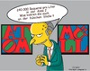 Cartoon: Mr Burns in der Asse (small) by ESchröder tagged atomlager,asse2,cäsium,137,atommülllager,radioaktivität,bohrloch