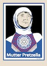 Cartoon: Mutter Pretzella (small) by ESchröder tagged afd,frauke,petry,markus,pretzell,mutter,schwangerschaft,israel,juden,in,deutschland,wahlkampf,teresa,muslima