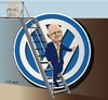 Cartoon: Piech VW (small) by ESchröder tagged vw,volkswagen,ferdinand,piech,patriarch,winterkorn,aufsichtsratsvorsitzender,machtkampf,rücktritt,anteilseigner,lotse,von,bord,punch