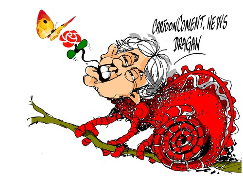 Cartoon: Felipe Gonzalez-mariposa (medium) by Dragan tagged felipe,gonzalez,gas,natural,fenosa,psoe,partido,socialista,obrero,espanol,politics,cartoon
