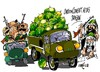 Cartoon: Sinai-Coche bomba (small) by Dragan tagged sinai,coche,bomba,egipto,milicianos,fundamentalistas,mohamed,mursi,islamistas,politics,cartoon