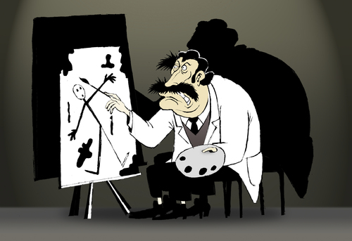 Cartoon: Dali Early Work... (medium) by berk-olgun tagged dali,early,work