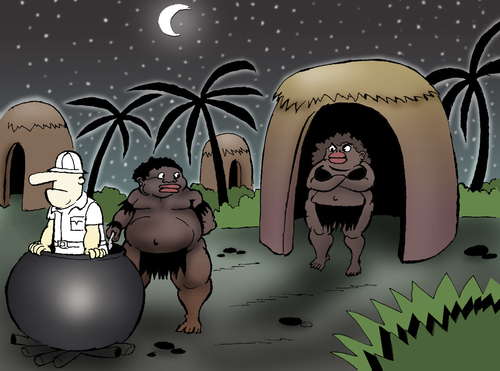 Cartoon: Hungry in the Night... (medium) by berk-olgun tagged hungry,in,the,night