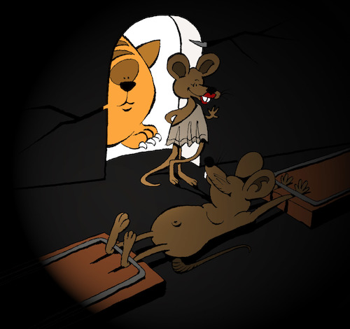 Cartoon: Mouse Trap... (medium) by berk-olgun tagged mouse,trap