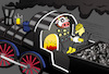 Cartoon: Accident-Fireplace... (small) by berk-olgun tagged accident