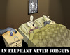 Cartoon: An Elephant Never Forgets... (small) by berk-olgun tagged an,elephant,never,forgets