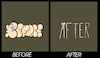 Cartoon: Before-After... (small) by berk-olgun tagged before,after