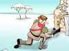 Cartoon: Bigfoot.. (small) by berk-olgun tagged bigfoot