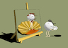 Cartoon: Birth of Pearl... (small) by berk-olgun tagged birth,of,pearl