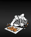 Cartoon: Butchers Puzzle... (small) by berk-olgun tagged butchers,puzzle