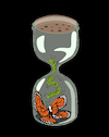 Cartoon: Butterfly Jar... (small) by berk-olgun tagged butterfly,jar