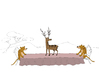 Cartoon: Cheetah... (small) by berk-olgun tagged cheetah