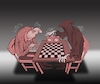 Cartoon: Chess with Death... (small) by berk-olgun tagged chess,with,death