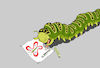 Cartoon: Child Drawing... (small) by berk-olgun tagged caterpillar
