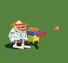 Cartoon: Clown Tennis... (small) by berk-olgun tagged clown,tennis
