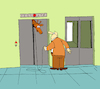 Cartoon: Elevator... (small) by berk-olgun tagged elevator