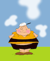 Cartoon: Fat Charlie Brown... (small) by berk-olgun tagged fat,charlie,brown