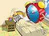 Cartoon: Father Alarm Clock... (small) by berk-olgun tagged father,alarm,clock