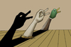 Cartoon: Hallucination 2.. (small) by berk-olgun tagged hallucination