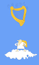 Cartoon: Harp... (small) by berk-olgun tagged harp