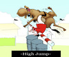 Cartoon: High Jump... (small) by berk-olgun tagged high,jump