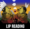 Cartoon: LIP READING... (small) by berk-olgun tagged lip,reading