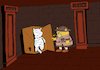 Cartoon: Mummy Cat... (small) by berk-olgun tagged mummy,cat