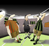 Cartoon: Night Match... (small) by berk-olgun tagged night,match