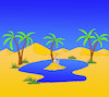 Cartoon: Oasis... (small) by berk-olgun tagged oasis