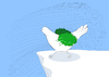 Cartoon: Olive Branch Wing... (small) by berk-olgun tagged olive,branch,wing