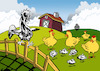 Cartoon: Picasso Farm... (small) by berk-olgun tagged picasso,farm