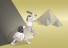 Cartoon: Pyramid.. (small) by berk-olgun tagged pyramid
