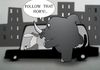Cartoon: Rhino.. (small) by berk-olgun tagged rhino