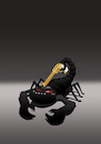 Cartoon: Scorpion... (small) by berk-olgun tagged scorpion